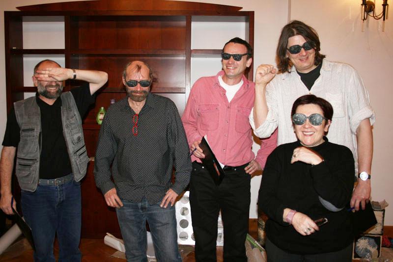 Experimental biennial jury featuring The Stargazers
